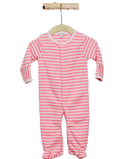 baby girl stripes pajama