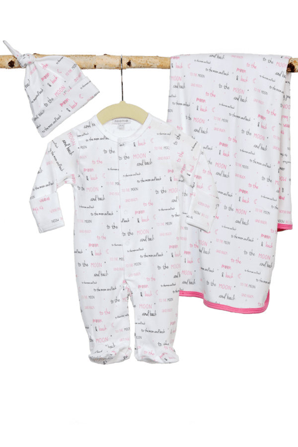 Baby Noomie - Pima Cotton - clothing - girls - boys - baby clothing - baby girl gift set