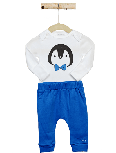 baby boy penguin set