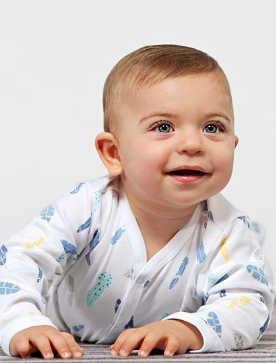 Baby Noomie - Pima Cotton - clothing - girls - boys - baby clothing - feathers pajama baby boy