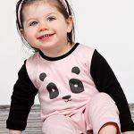 Baby Noomie - Pima Cotton - clothing - girls - boys - baby clothing - girl jumpsuit panda