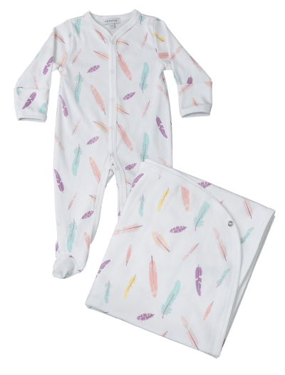 baby clothing - panda - pima cotton - blanket - baby pajamas - potafolio - on site - ejemplo