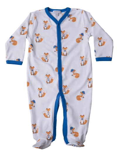 baby boy fox pajamas