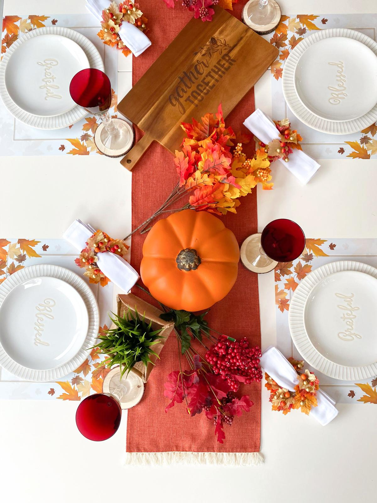 Set Up Your Table For Thanksgiving!